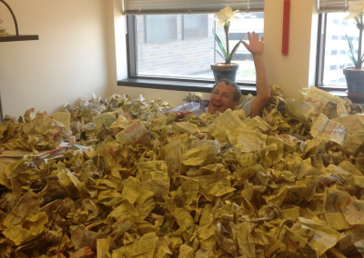 Greetings from Paper City Barak's Office