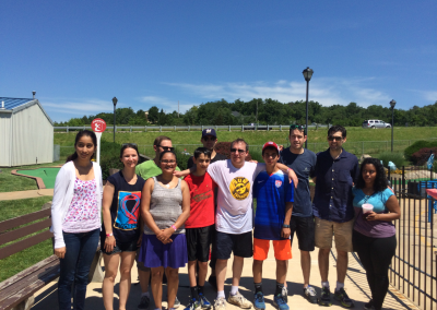 Lab trip to Swing Around Fun Town 2015