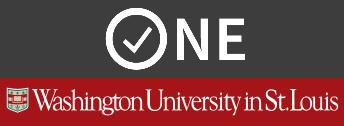 Washington University one.wustl.edu